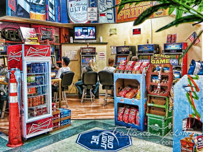 Gambling in convenience stores in Las Vegas