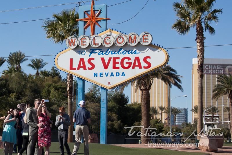 Welcome To Las Vegas Sign on Las Vegas Strip