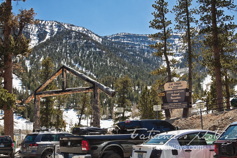 Mt. Charleston Ski and Snowboard Resort Las Vegas at National Recreation Area