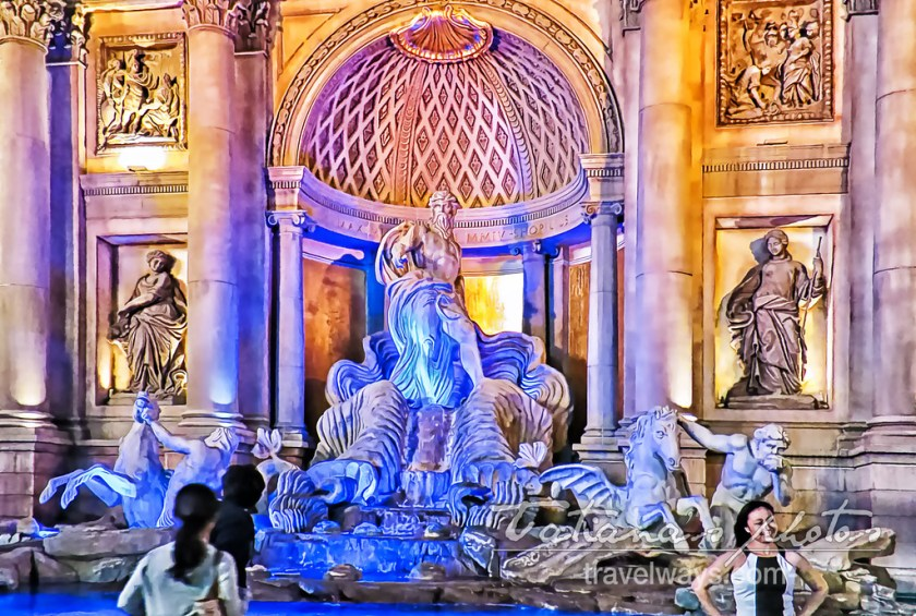 Trevi Fountain at Caesars Palace, Las Vegas