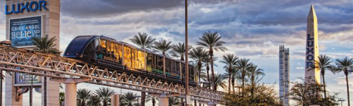 Las Vegas Monorail on the Strip - featured image
