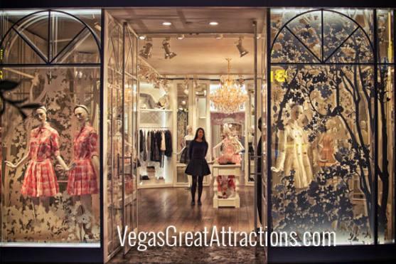Red Valentino Store inside the Forum Shops