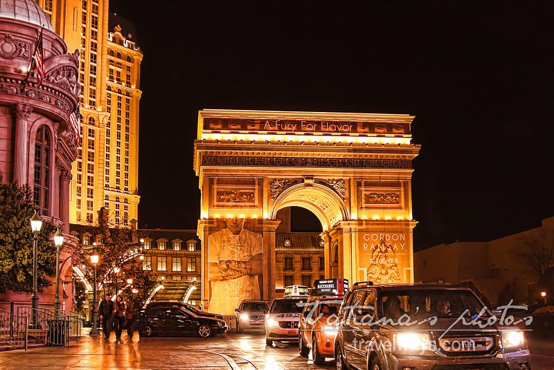 Arc de Triomphe, Paris Las Vegas