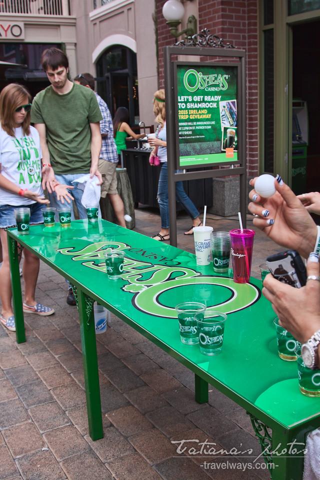 Beer game on St.Patrick's Day Las Vegas