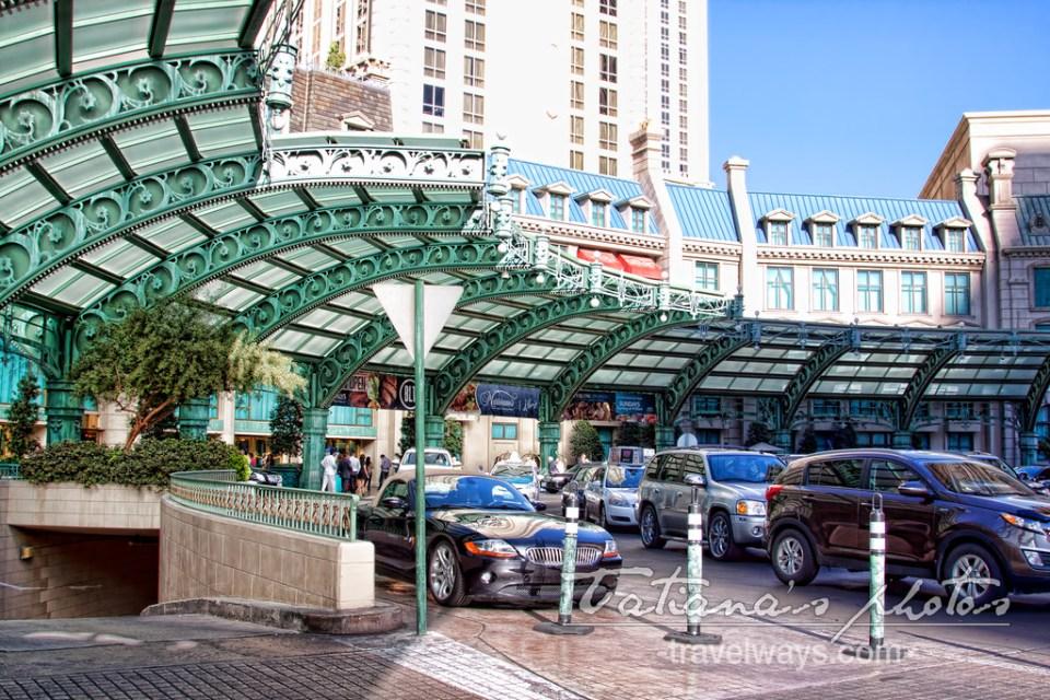 Entrance to Paris Las Vegas