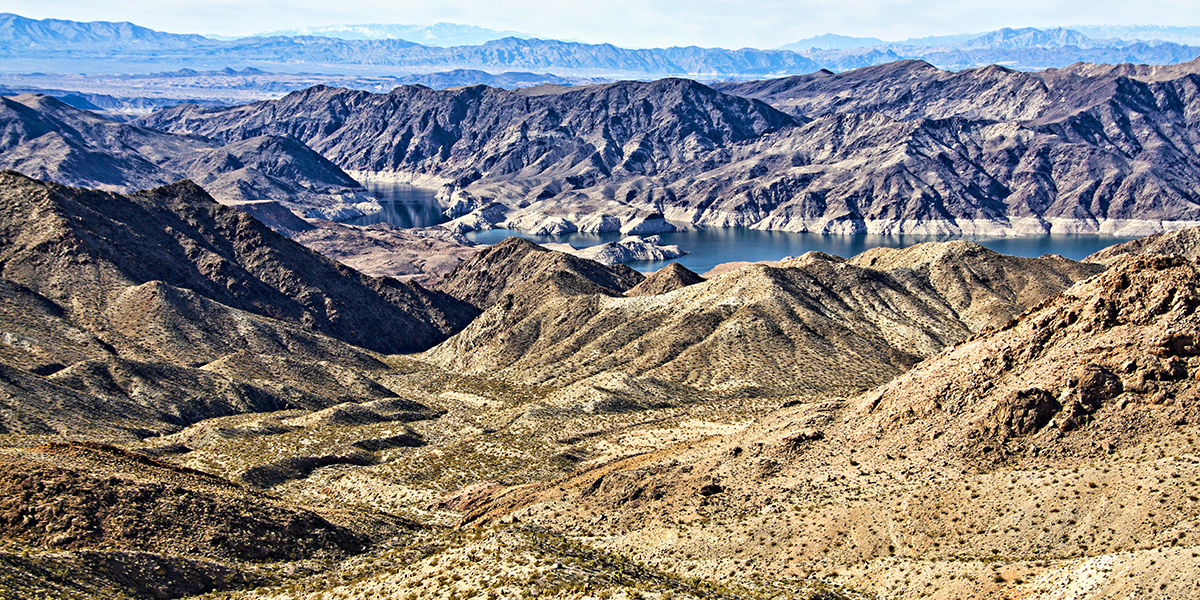 Colorado River a near Las Vegas attraction