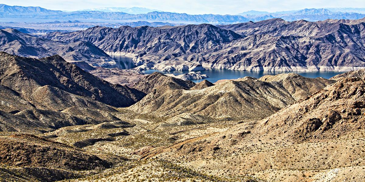 Colorado River a near Las Vegas attraction