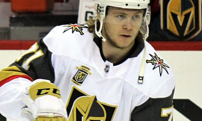 William Karlsson Vegas Golden Knights NHL training camp schedule