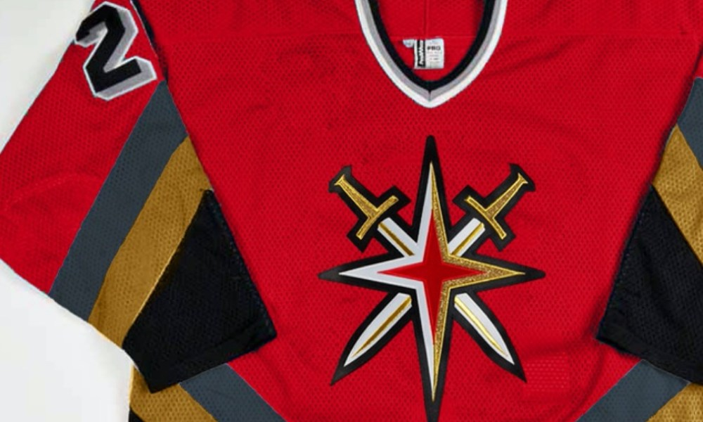 Vegas Retro Red Jersey Golden Knights