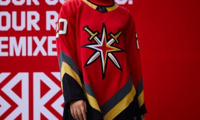 Vegas Golden Knights reverse retro jersey