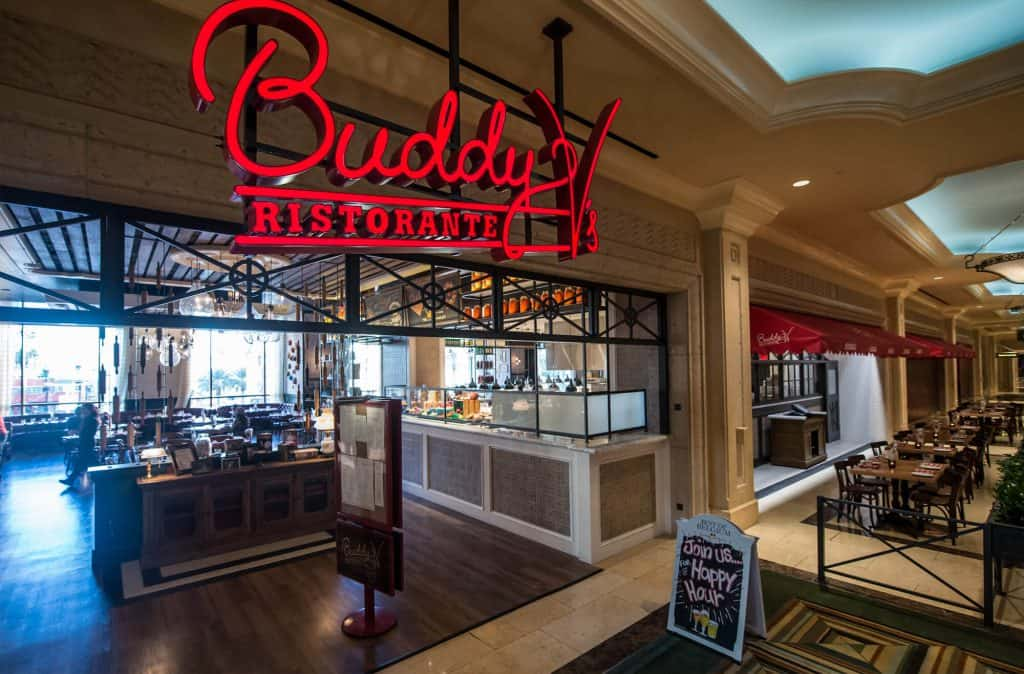 Buddy V's at The Venetian - Italian Restaurants Las Vegas