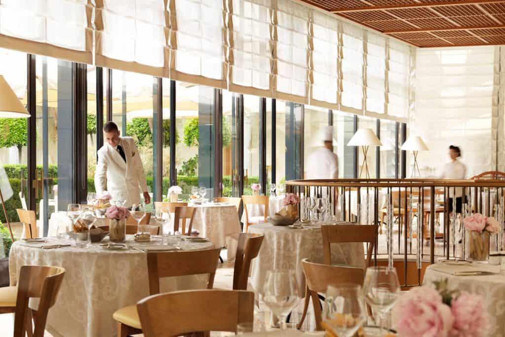Veranda Restaurant at Four Seasons - Italian Restaurants Las Vegas