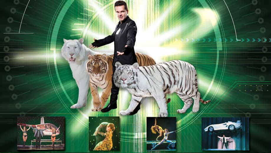 Dirk Arthur Wild Magic Show in Vegas