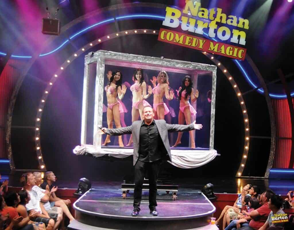 Nathan Burton Comedy Magic Show - Magic Shows in Vegas