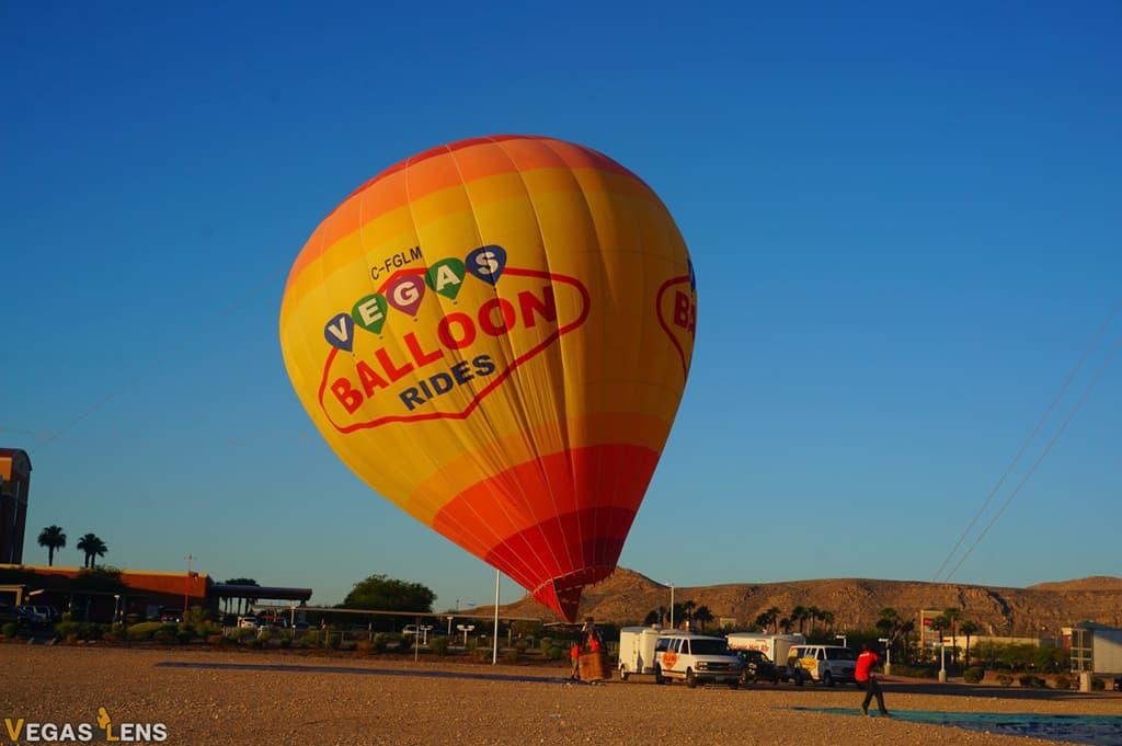 Vegas Balloon Rides - Las Vegas attractions for Couples