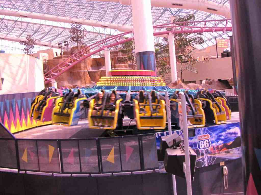 Chaos at the Adventuredome - Things to do on Vegas Strip