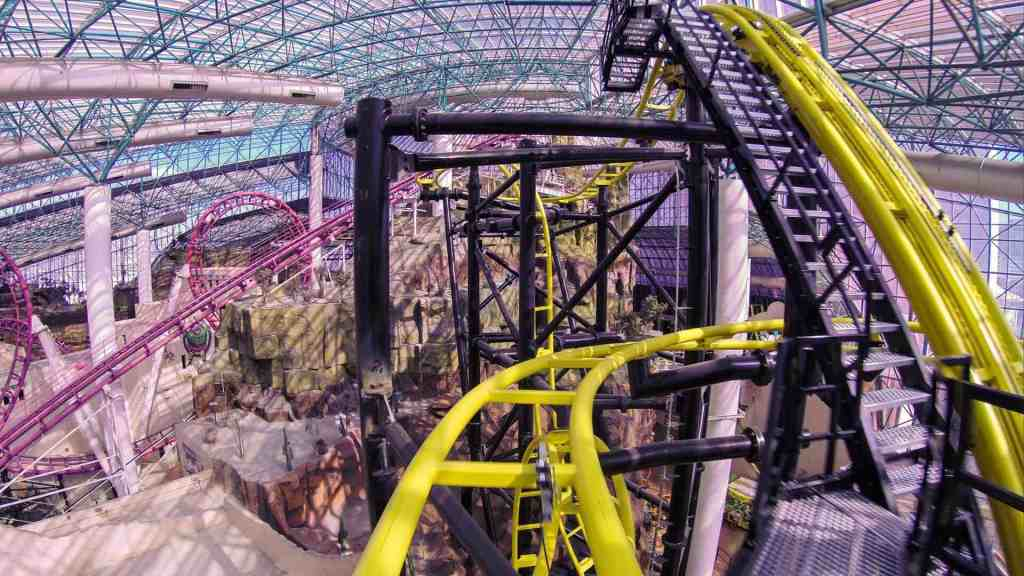 El Loco in the Adventuredome - Things to do in Las Vegas Strip