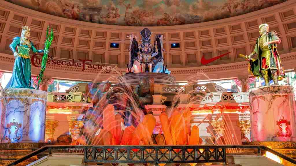 Fall of Atlantis Show - Things to do in Las Vegas Strip