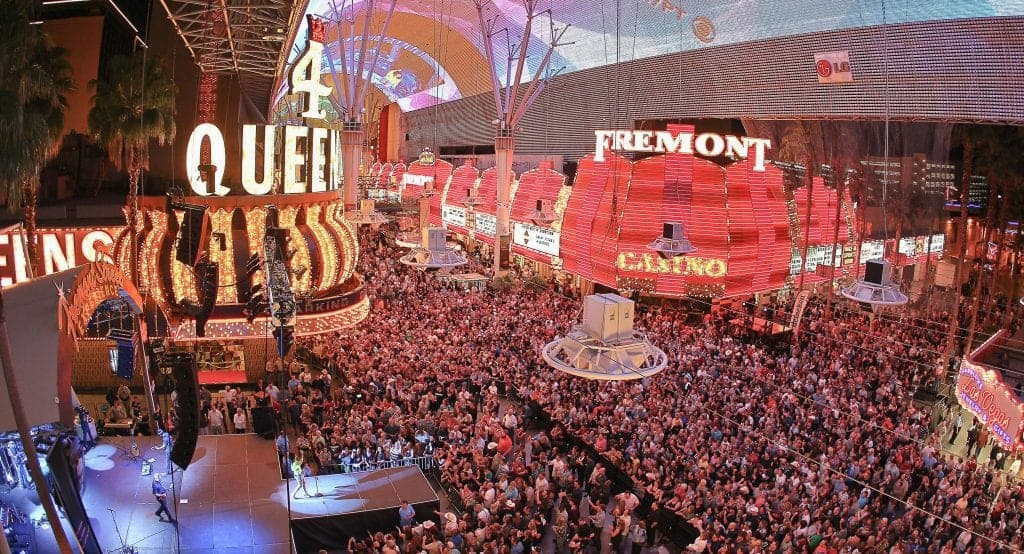 Fermont Street Experience - Things to do in Las Vegas on the Strip