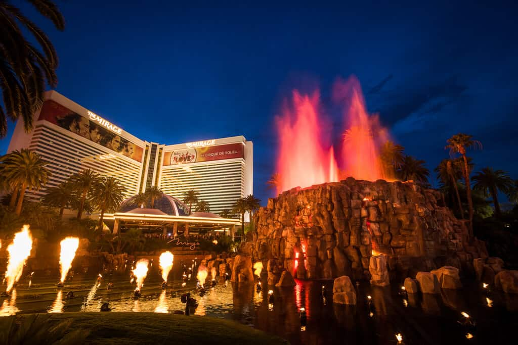 The Mirage Volcano - Things to do in Las Vegas on the Strip