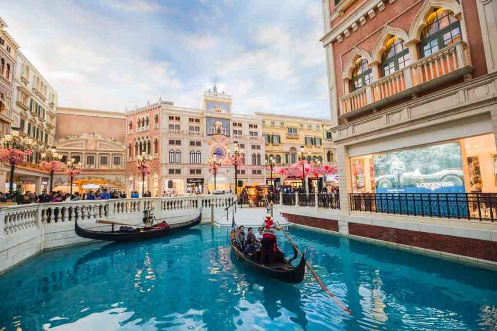 The Venetian's Canals - Things to do in Las Vegas Strip