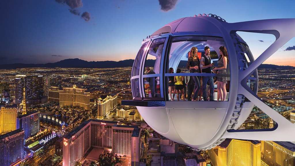 High Roller Observation Wheel - Fun Things to do in Las Vegas for Kids