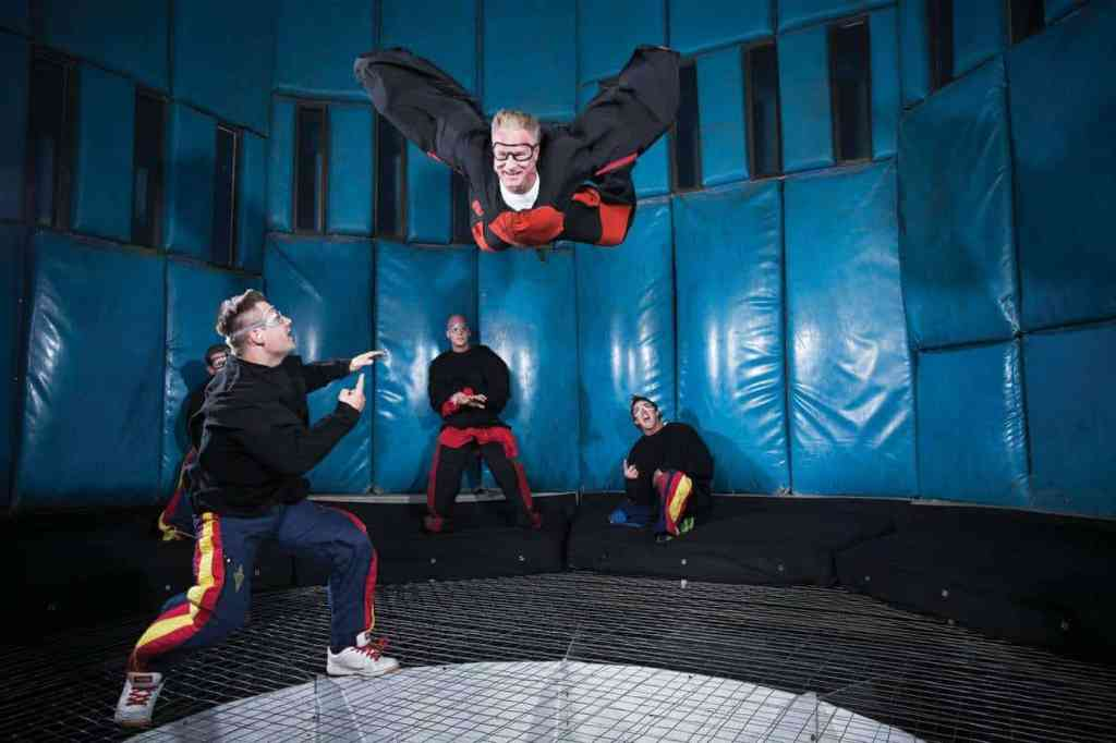 Las Vegas Indoor Skydiving - Family Activities in Las Vegas