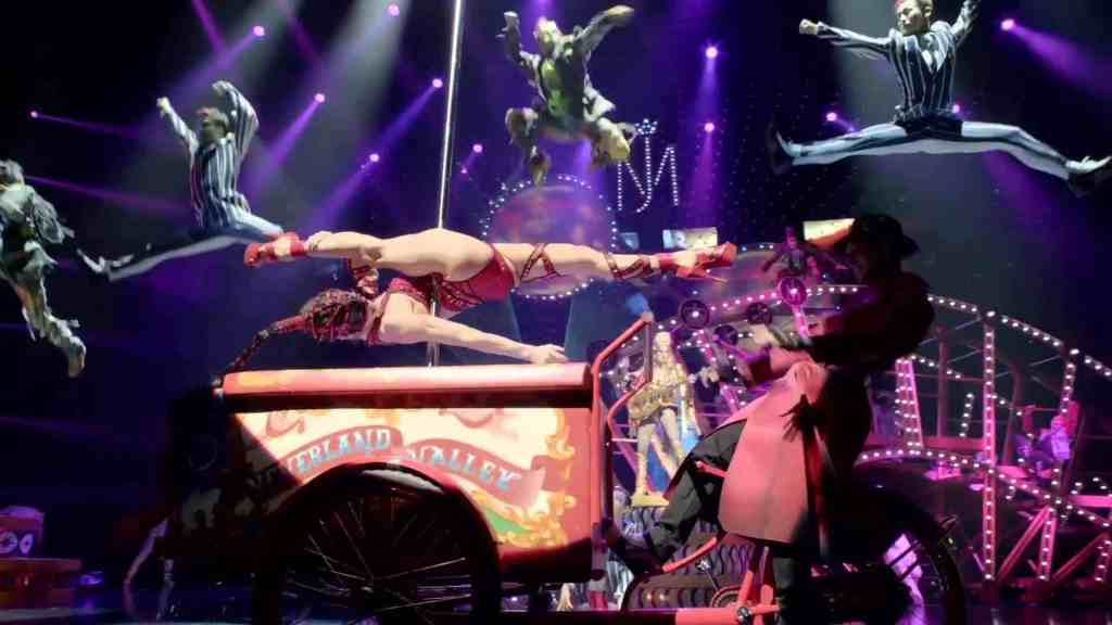 Michael Jackson ONE - Things to do in Las Vegas with Kids