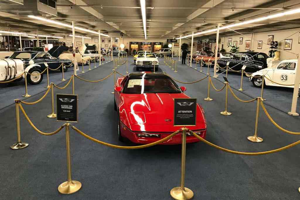 The Auto Collection in Las Vegas - Family Things to do in Vegas
