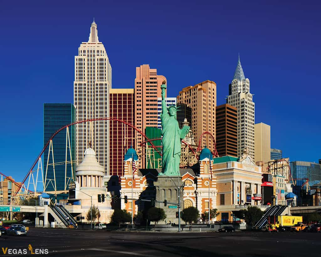 New York-New York - best hotels for bachelorette parties in Vegas