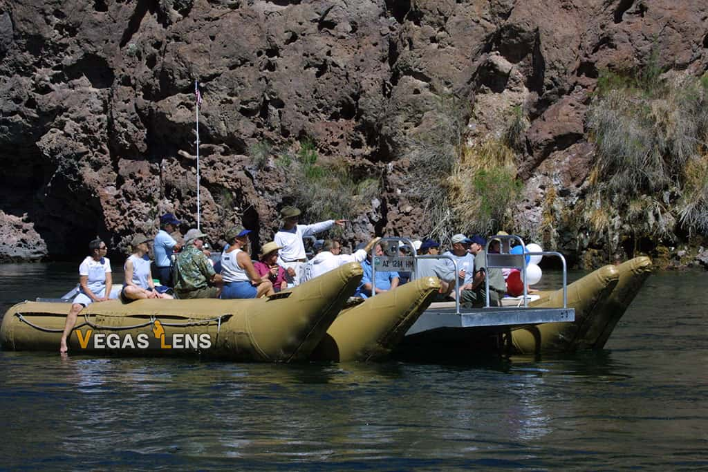 12 Mile River Raft & Hoover Dam Combo Tour