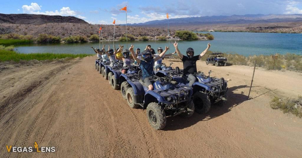 Lake Mead & Colorado River ATV Tour