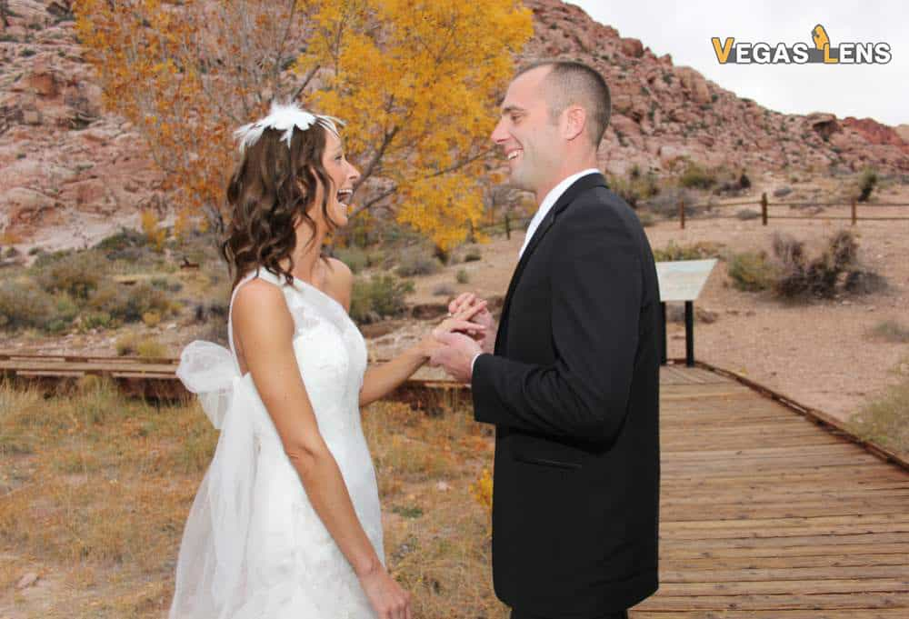 Destination Wedding: Red Rock Canyon Ceremony
