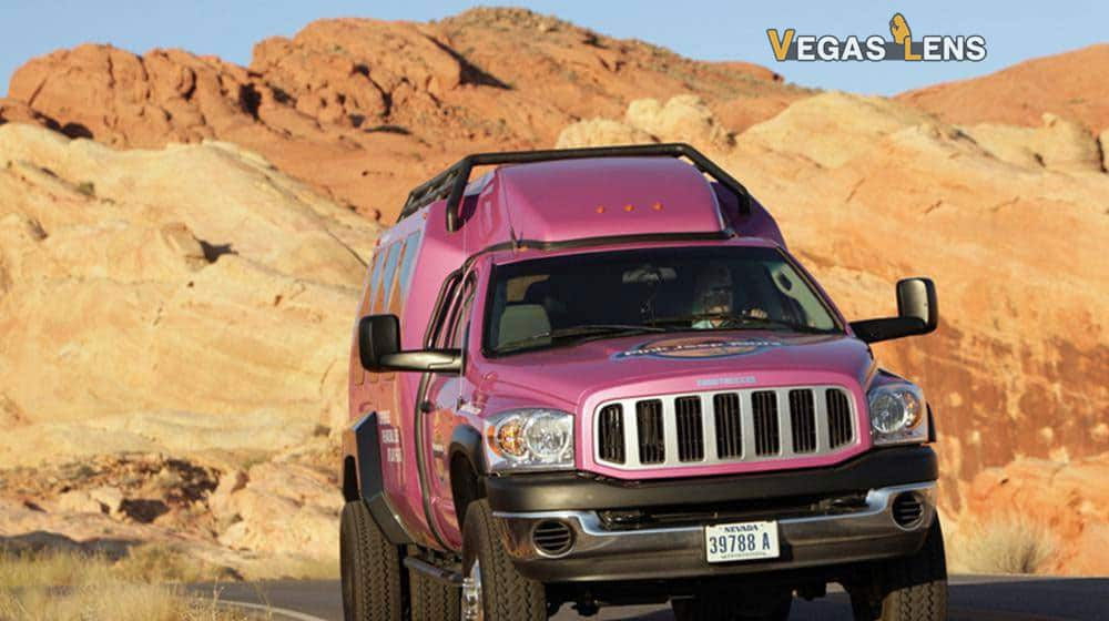Red Rock Canyon Luxury Tour Trekker Experience