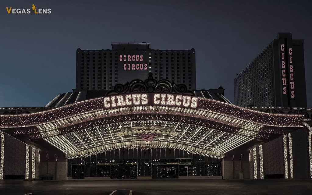 Circus Circus Hotel - Family friendly hotels in Las Vegas