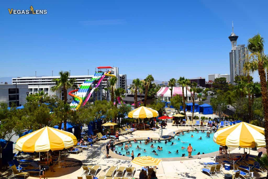 Circus Circus Splash Zone - Family friendly pools in Las Vegas