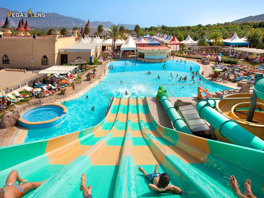 Excalibur Las Vegas - Family friendly pools in Las Vegas