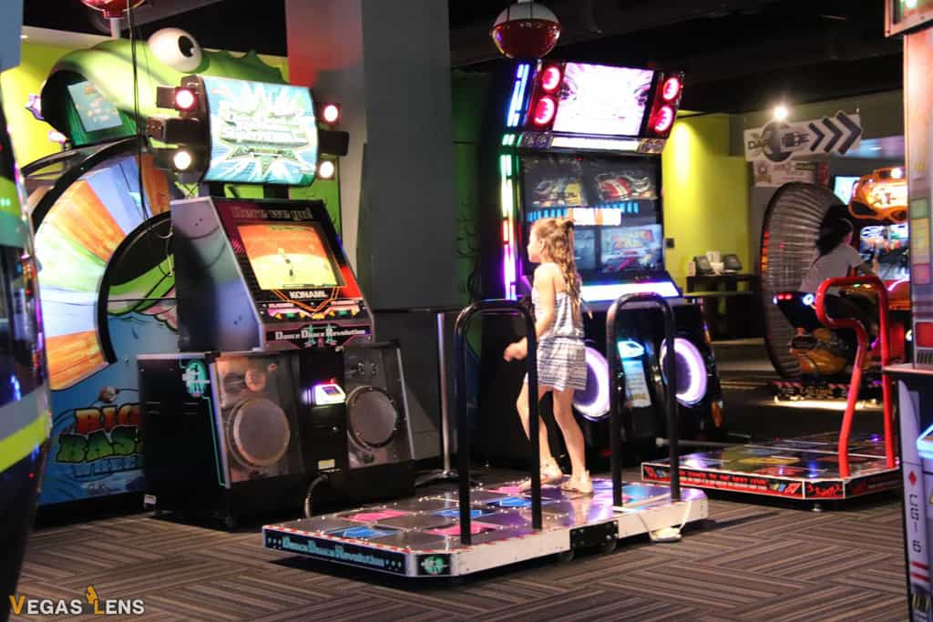 GameWorks Las Vegas - Kids birthday party places in Las Vegas
