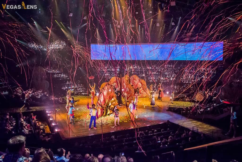 The Beatles LOVE (Cirque du Soleil) - Las Vegas shows for kids