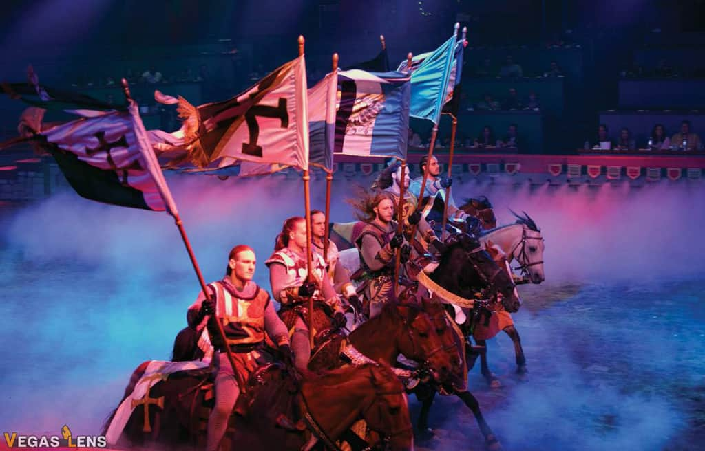 Tournament of Kings - Family friendly shows in Las Vegas