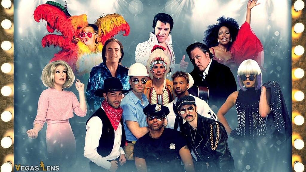 Legends in Concert - Matinee shows Las Vegas