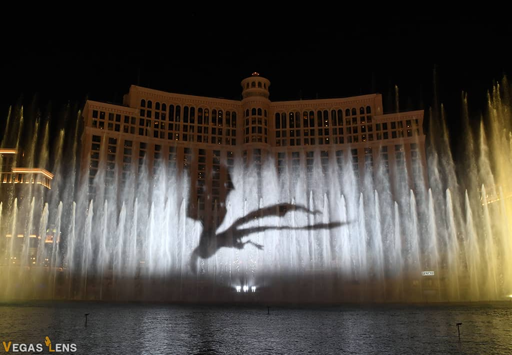 Fountains of Bellagio - Vegas water show