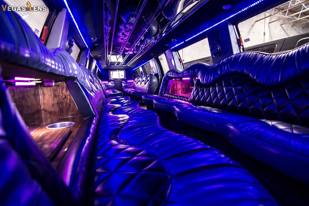 Limousine Ride - Vegas bachelorette party ideas