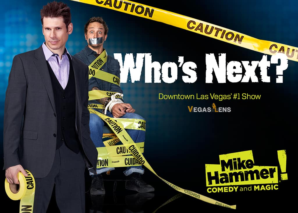 Mike Hammer Comedy - Comedy shows in Vegas