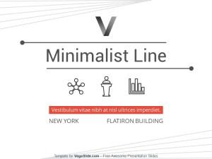 Minimalist Line PowerPoint Template