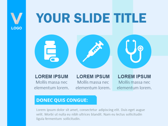 Hospital Theme PowerPoint Template