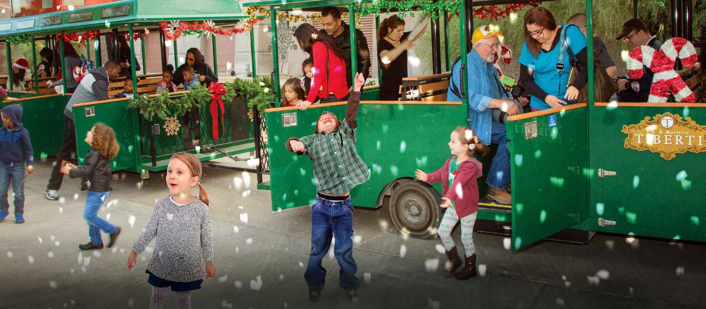 Holiday Train Rides - Vegas Living on the Cheap