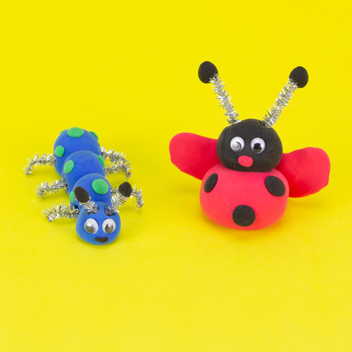 Kids club craft model clay bugs for kids at Michaels