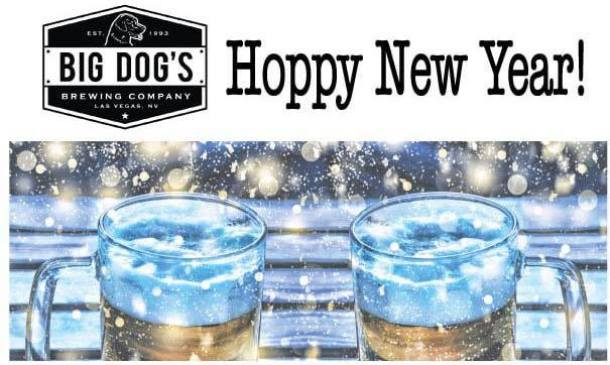 Big Dog's Brewing Company event Winterfest snow and beers
