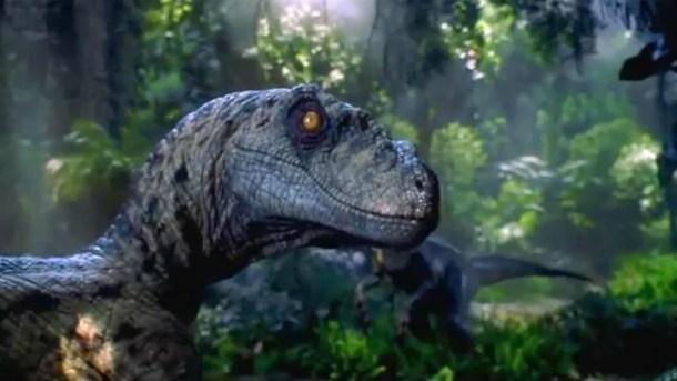 Jurassic Park Movie photo of a dinosaur